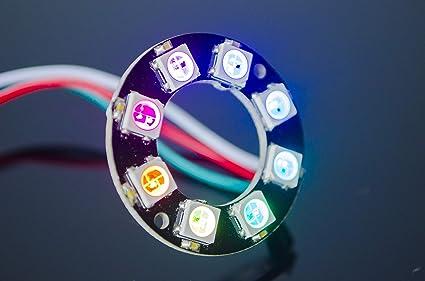 Amazon com: ACROBOTIC 8-Pixel Addressable 24-Bit RGB LED