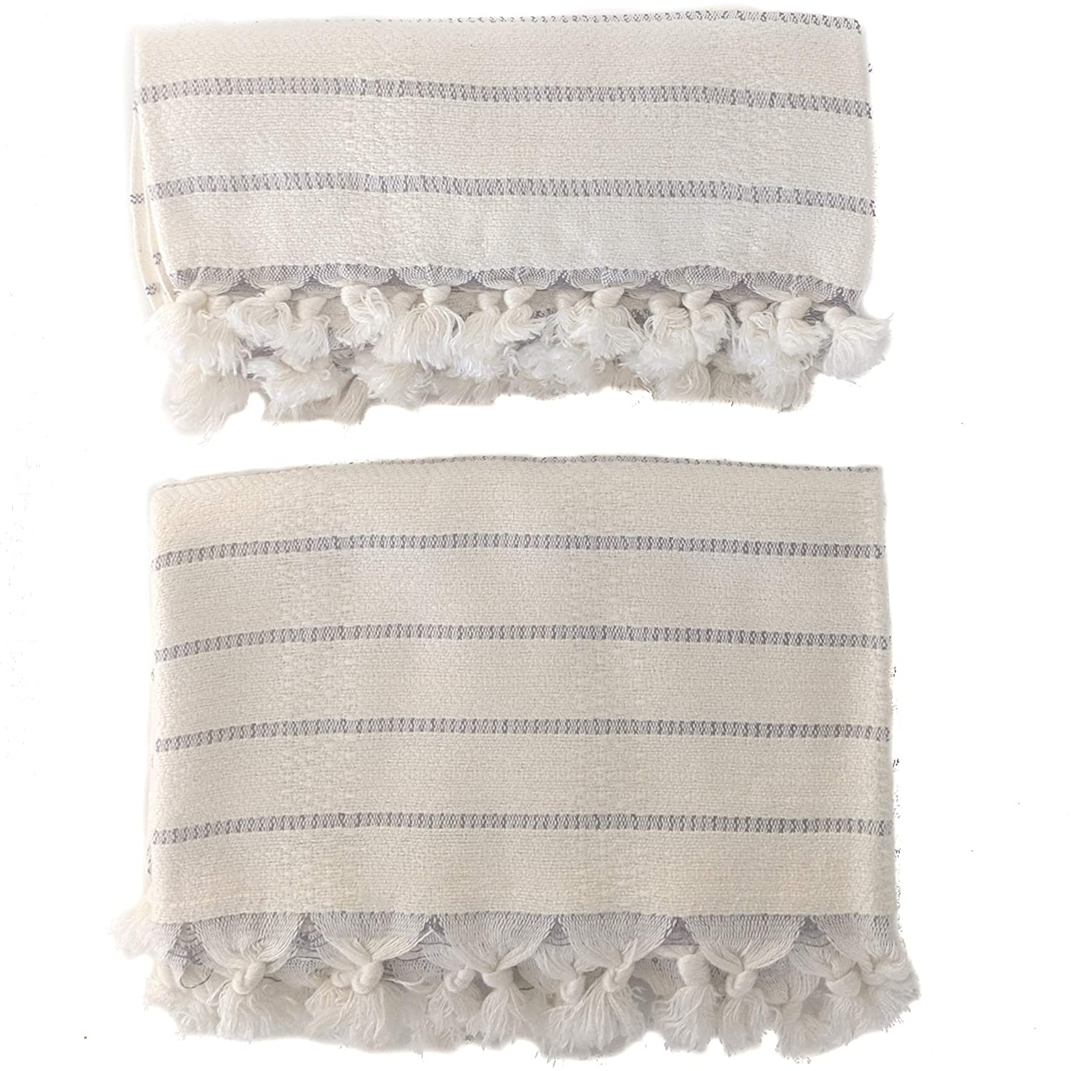 Turkish hand towels - Come explore Serene Decor Slow Living as well as Small Thoughtful Changes at Home.