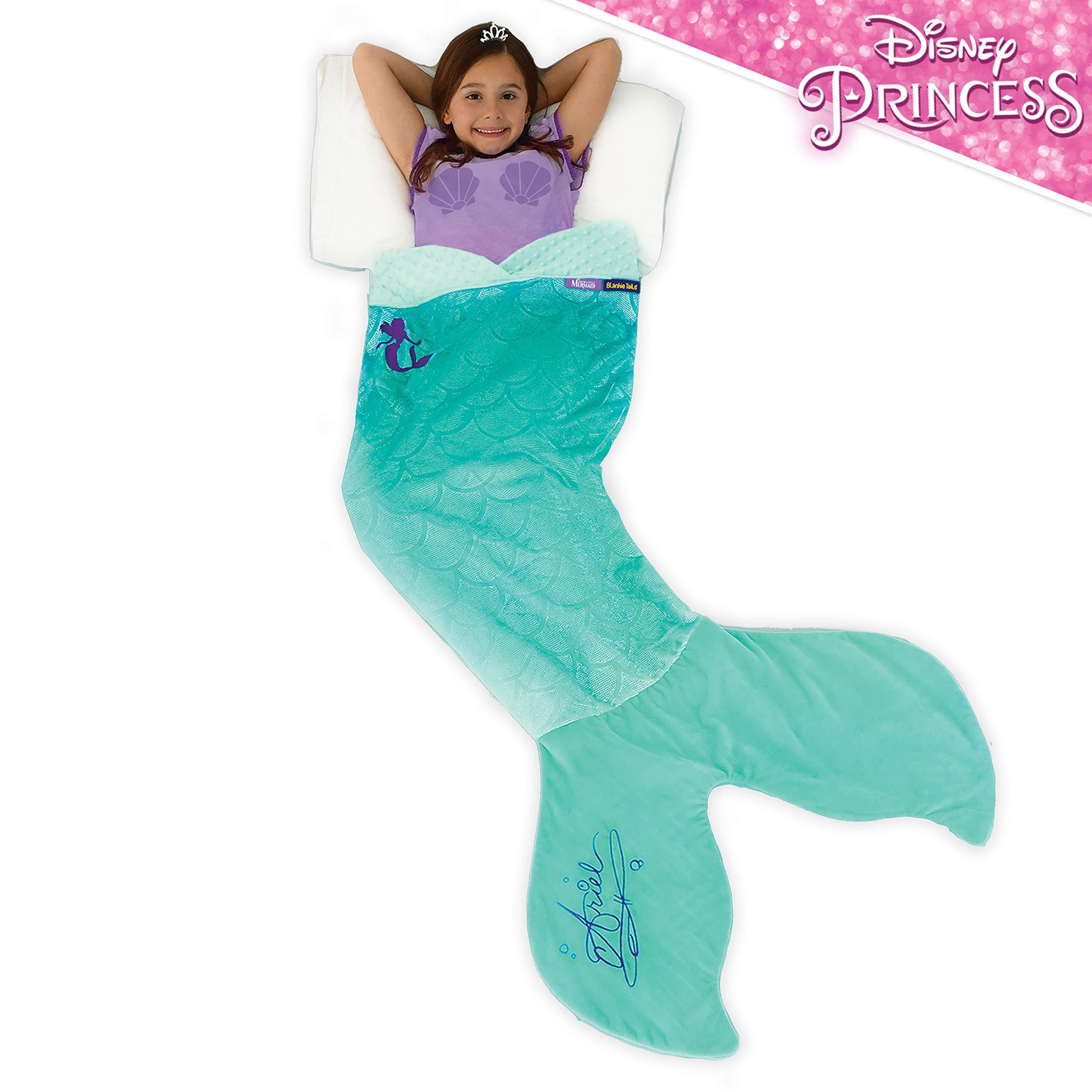 Blankie Tails Disney The Little Mermaid Ariel Mermaid Blanket by Blankie Tails