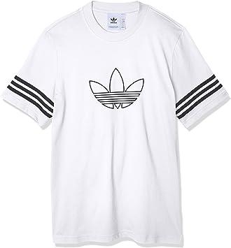 adidas Originals Outline tee - Camiseta de Manga Corta Hombre: Amazon.es: Deportes y aire libre