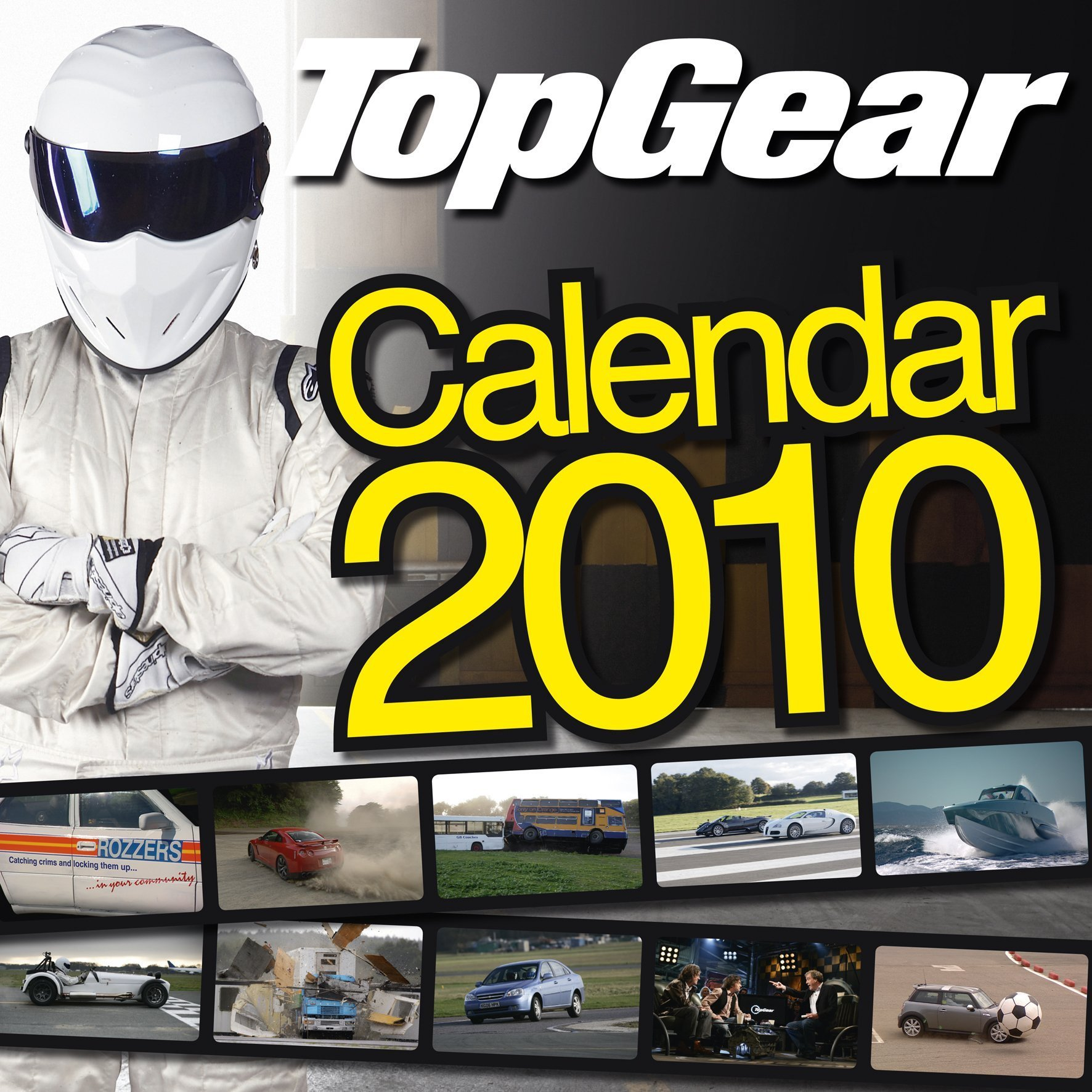 "Official ""Top Gear"" 2010 Calendar (Calendar 2010)"