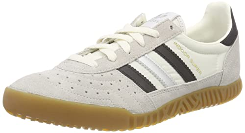 adidas Indoor Super, Zapatillas para Hombre, Blanco (Vintage White/Core Black/