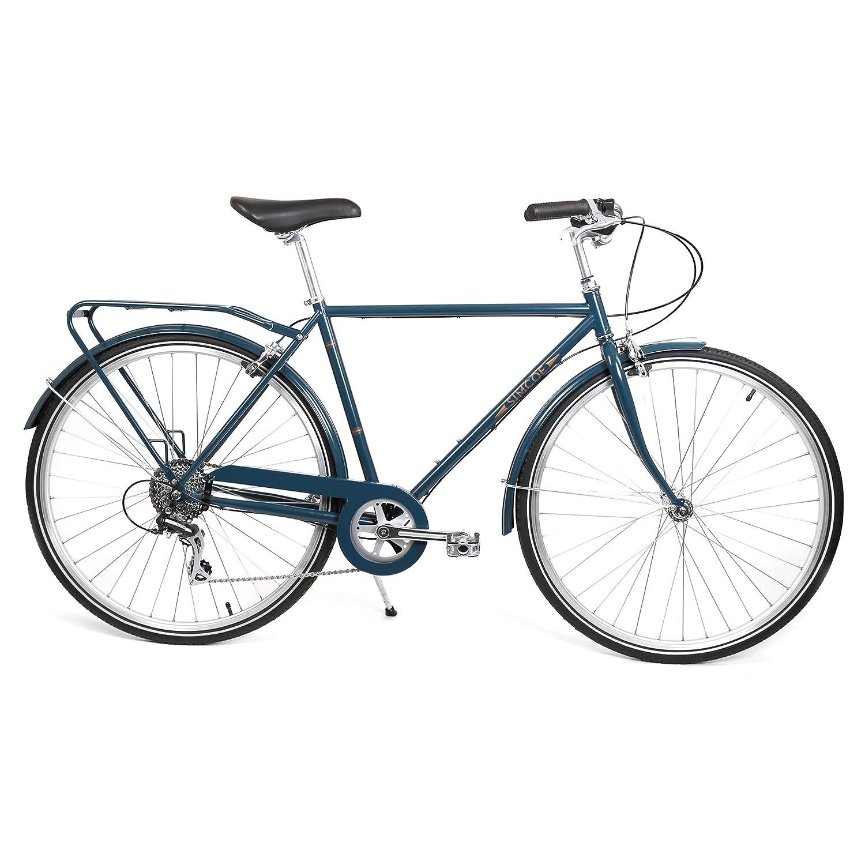 Simcoeロードスタークラシック8 Commuter / City Bikes – マットブラック B01F3Z5HC2  Midnight Blue Medium