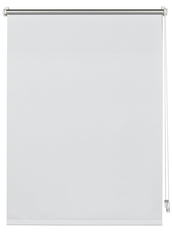 LxH Deco Company Store Enrouleur avec Rev/êtement Thermique au verso /à coller ou /à clipser Opaque Blanc Economie d/énergie Kit de montage inclus 60 x 150 cm Haute r/éflexion de la lumineuse