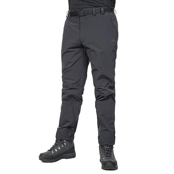 b9da9aa8741f Trespass Mens Clifton Water Repellent Trousers (XXS/SL) (Black)