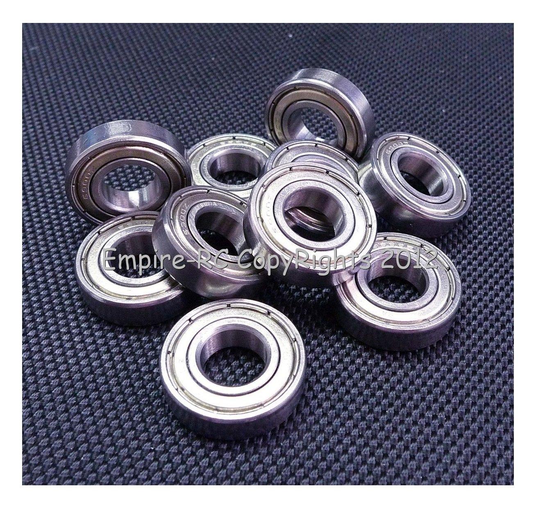10x22x6mm 6900ZZ Metal Shielded Ball Bearing Bearings 6900z 10226 10 PCS