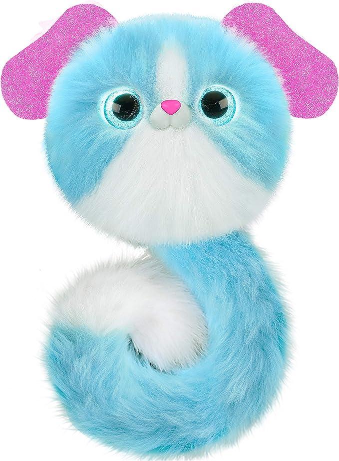 Pomsies 82478 Lulu Toy Pet, Blue & White,Sky Rocket,82478