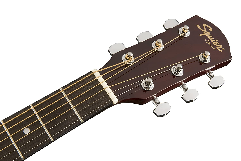 Squier de Fender SA-150 principiante Dreadnought Guitarra Acústica: Amazon.es: Instrumentos musicales