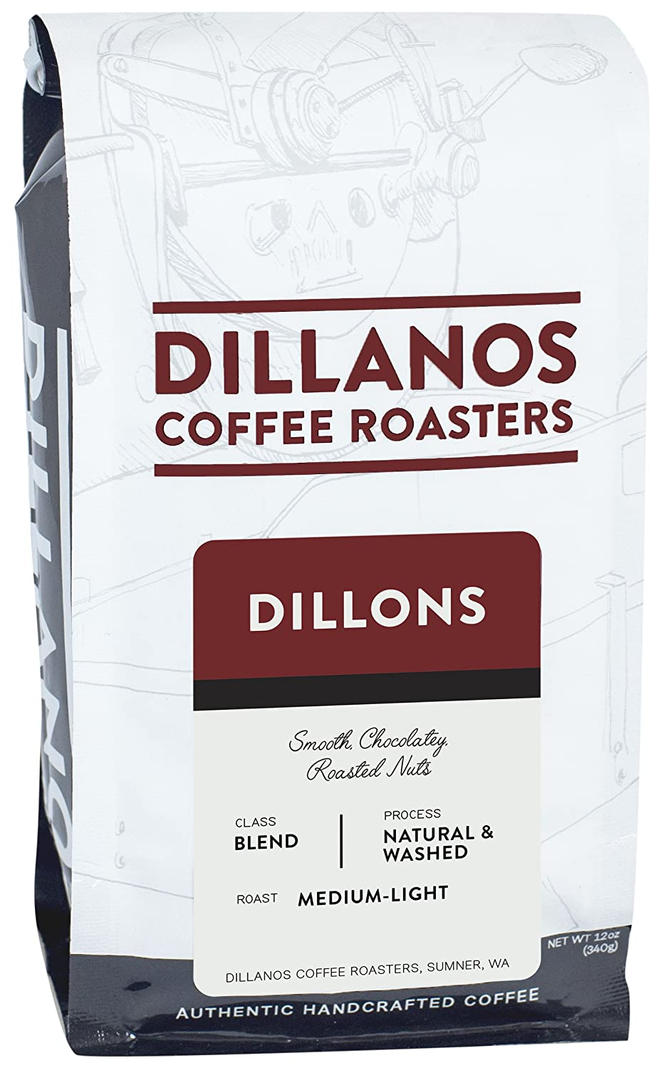 Amazon.com : Dillanos Coffee Roasters Dillons Blend, Dillons Blend ...