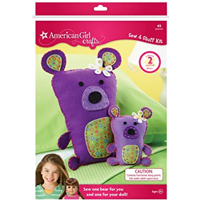 American Girl Crafts Bears Sew and Stuff Kit: Arts, Crafts & Sewing