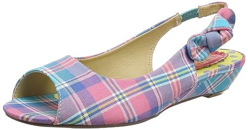 Chaussures Peep Womens Lydia Ouvert Café Sandales Orteil Browns Joe BHSe1Rbzjz