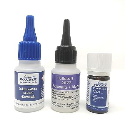 El pegamento de soldadura de plástico Juego de adhesivos PP Polipropileno PE polietileno silicona y PTFE