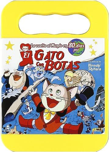 La Vuelta al Mundo en 80 días por el Gato con Botas DVD: Amazon.es ...