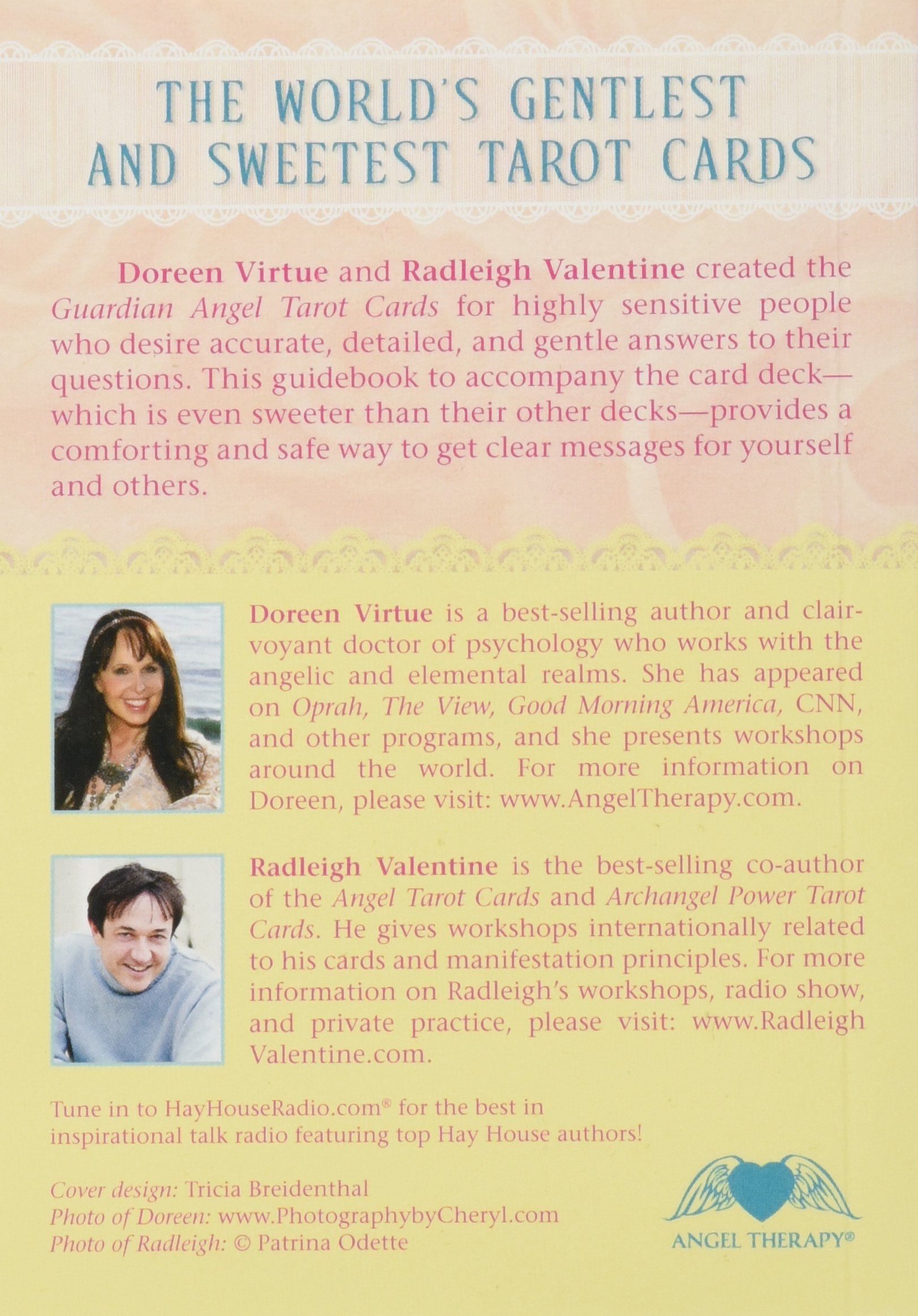 Guardian Angel Tarot Cards: A 78 Card Deck And Guidebook: Doreen Virtue, Radleigh  Valentine: 9781401942304: Amazon.com: Books