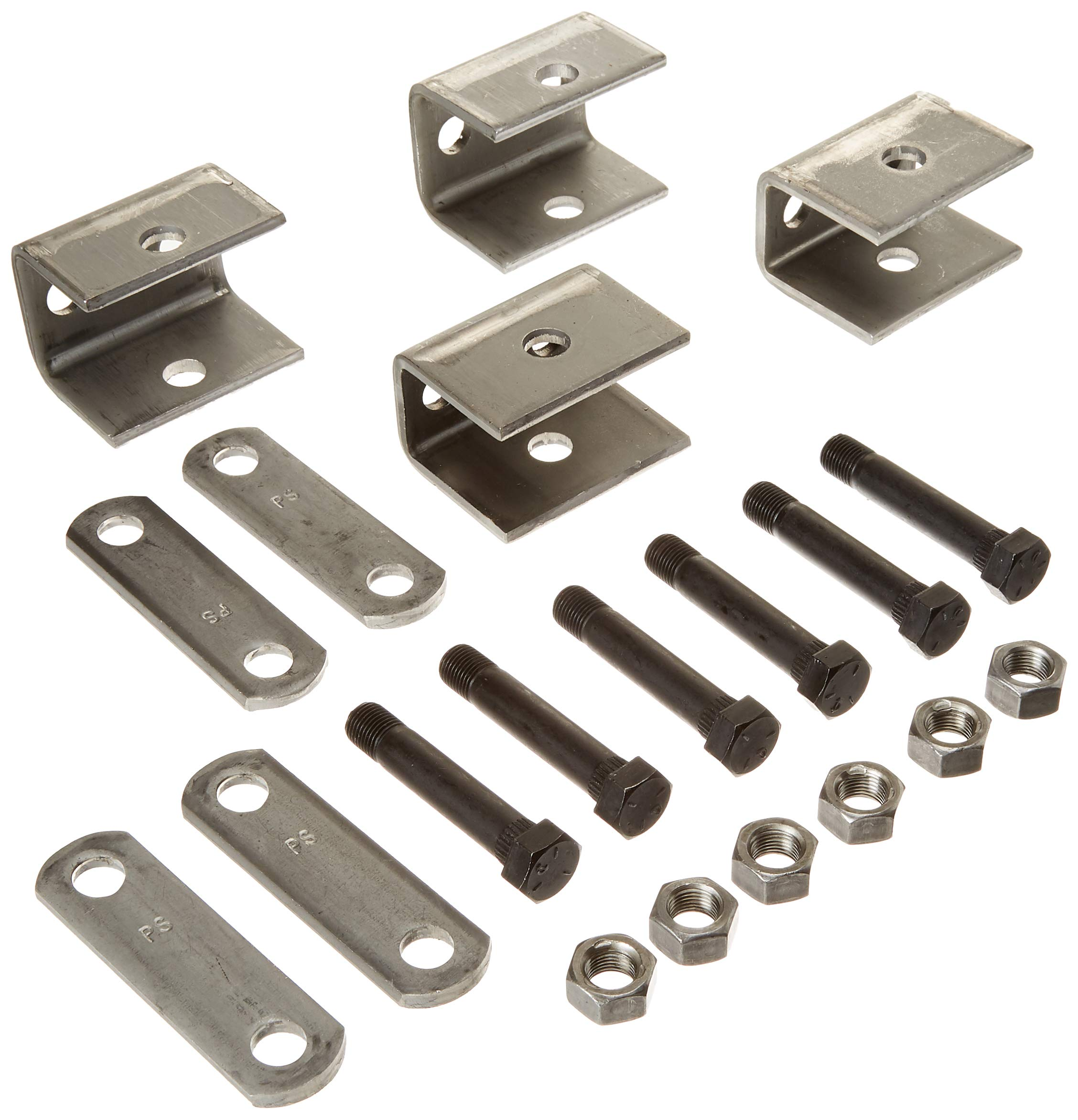 Rockwell American Single Axle Spring Hanger Kit - Fits 1.75'' Double Eye Springs by Rockwell American