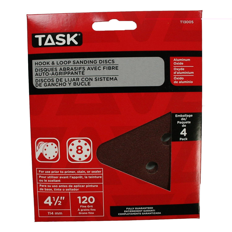 Task Tools Task Tools T13005  Hook and Loop Sanding Discs LCM Team