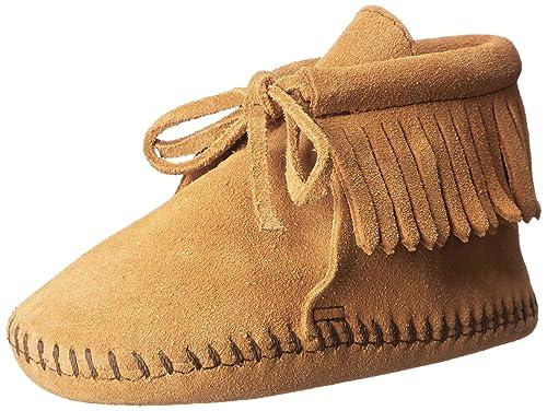 Minnetonka Fringe Bootie, Mocasines para Bebés: Amazon.es: Zapatos y complementos