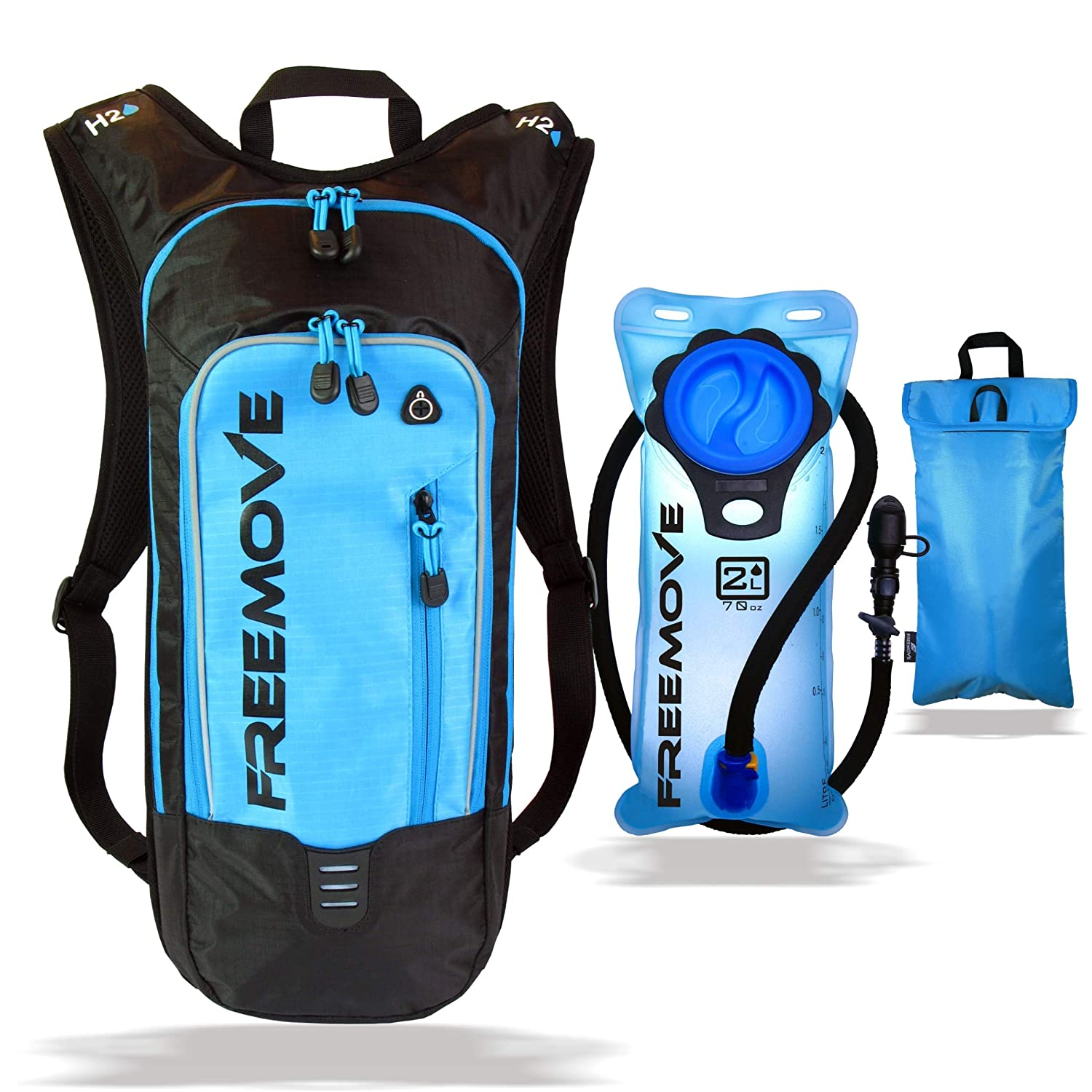 FREEMOVE No.1 Hydration Pack Backpack 2L Water