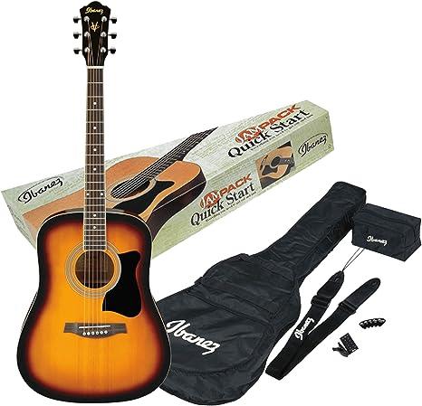 Ibanez V50NJP-VS - Guitarra acústica, color vintage sunburst ...