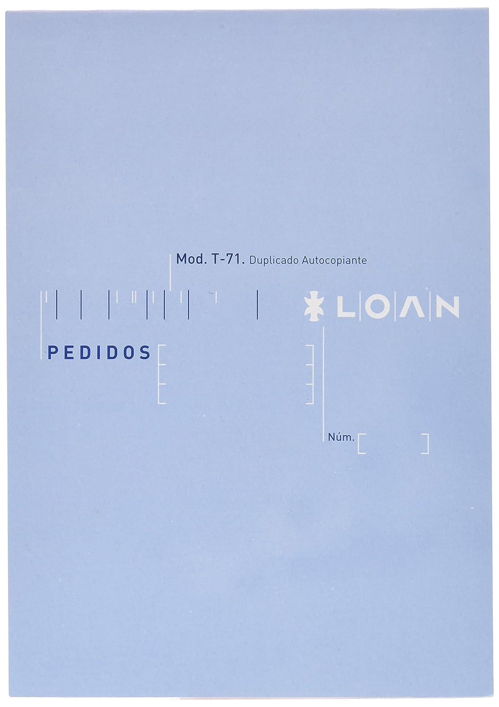 Talonario Loan T71 10 unidades