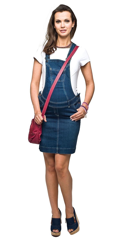 Torelle Schwangerschaftslatzrock, Schwangerschaftsrock, Modell: Lisa, Umstandsrock Jeans, Hochwertige Baumwolle!