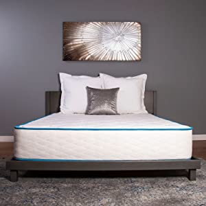 """Arctic Dreams 10"""" Hybrid Cooling Gel Mattress with Quick Response Gel Infused Memory Foam, Queen"""