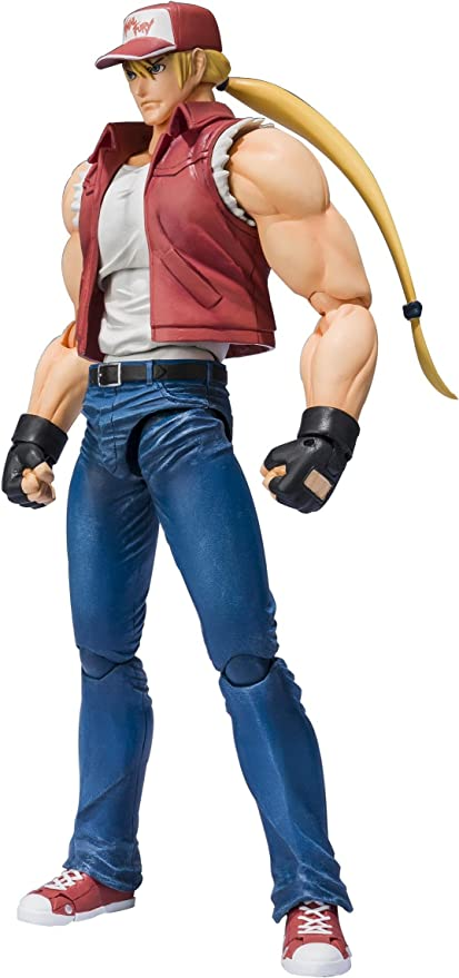 Amazon Com Bandai Tamashii Nations Terry Bogard King Of Fighters D Arts Toys Games