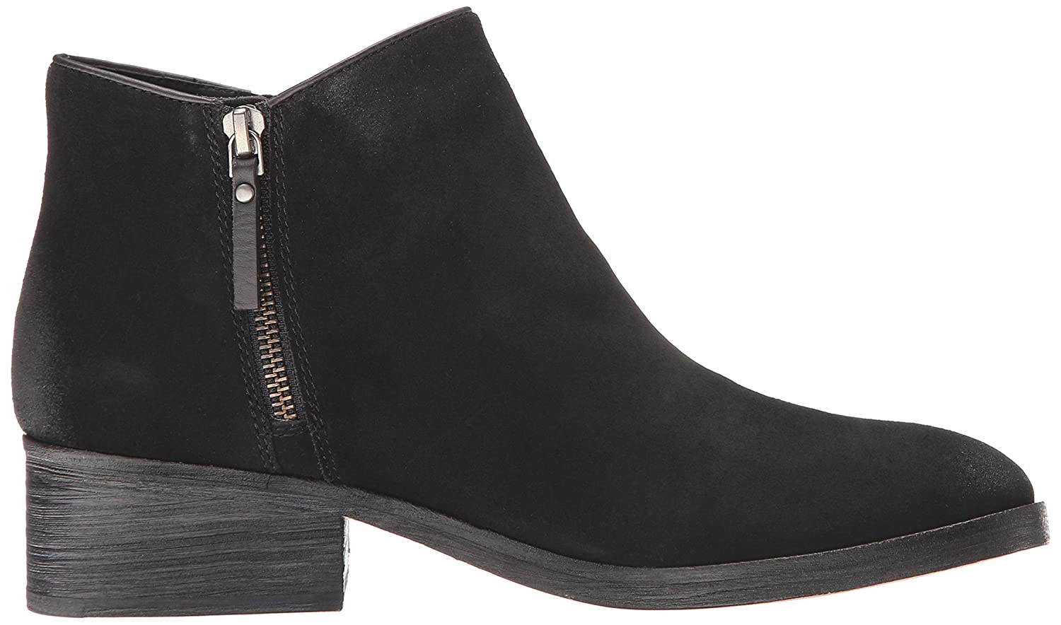 Cole Haan 6.5 Women's Hayes Flat Ankle Bootie B01FX6XDXG 6.5 Haan M US|Black Suede e3c5b9