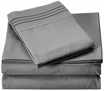 Elegant Comfort 1500 Thread Count Luxury Egyptian Quality Wrinkle And Fade  Resistant 4 Piece Sheet
