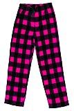 Just Love Two Piece Girls Pajamas Set,Plaid Pug,7-8