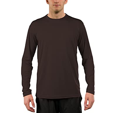 957a5f80 Vapor Apparel Men's UPF 50+ UV Sun Protection Performance Long Sleeve T- Shirt X
