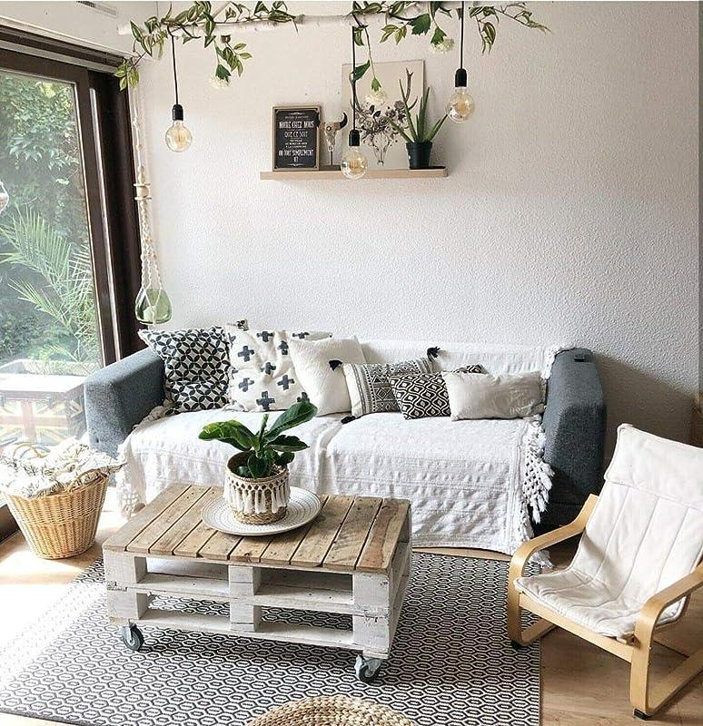 Mesa de centro de Palets de madera estilo Rustico & Vintage ...