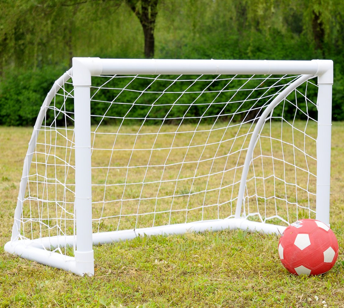 iisport Fußballtor für Kinder aus starkem PVC, Fußballtor Garten mit ...