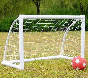 Iisport Fußballtor Für Kinder Aus Starkem Pvc Fußballtor Garten Mit