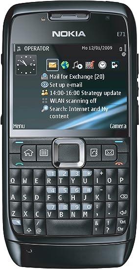 Nokia E71 Smartphone negro: Amazon.es: Electrónica