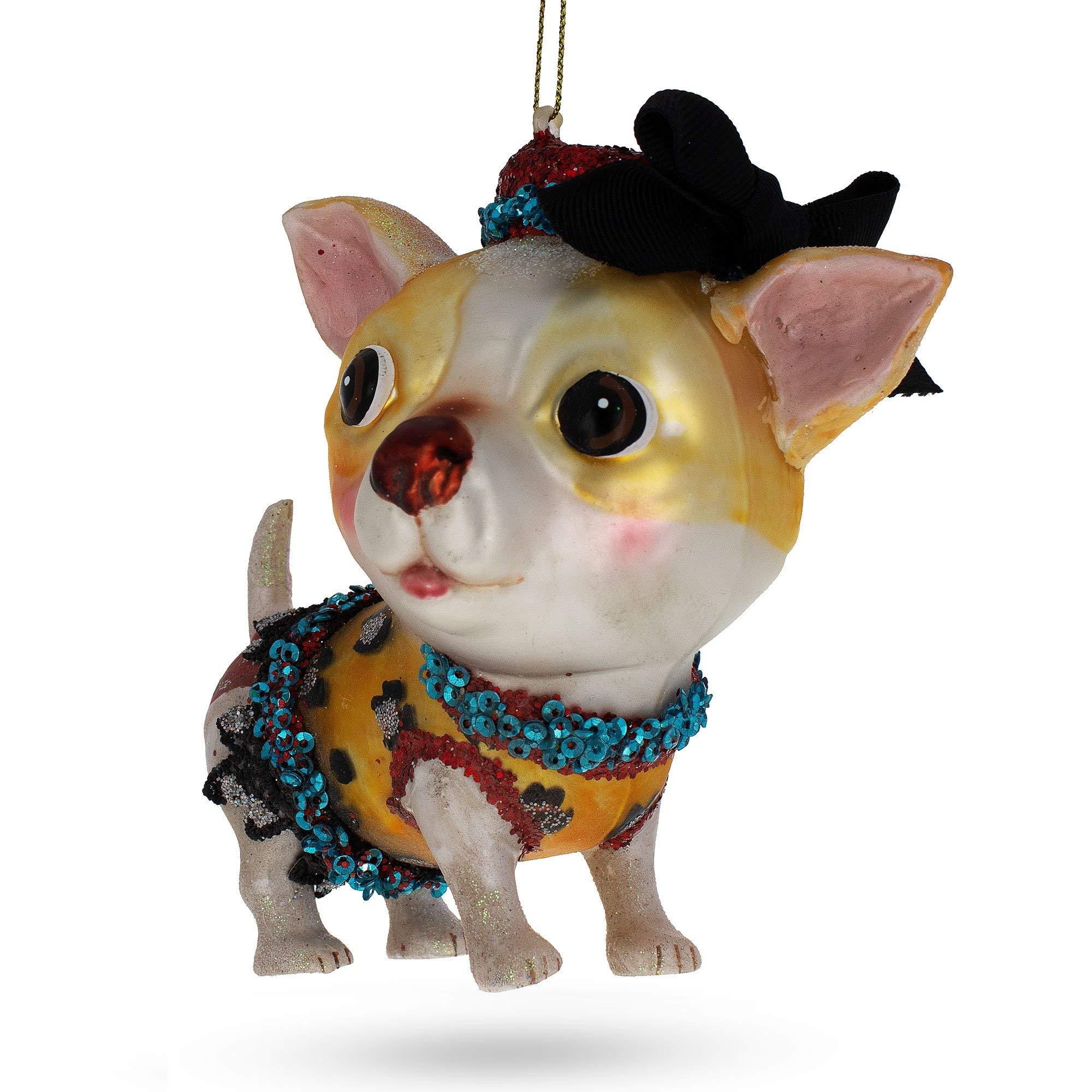 Chihuahua Dog Breed Christmas Tree Ornaments