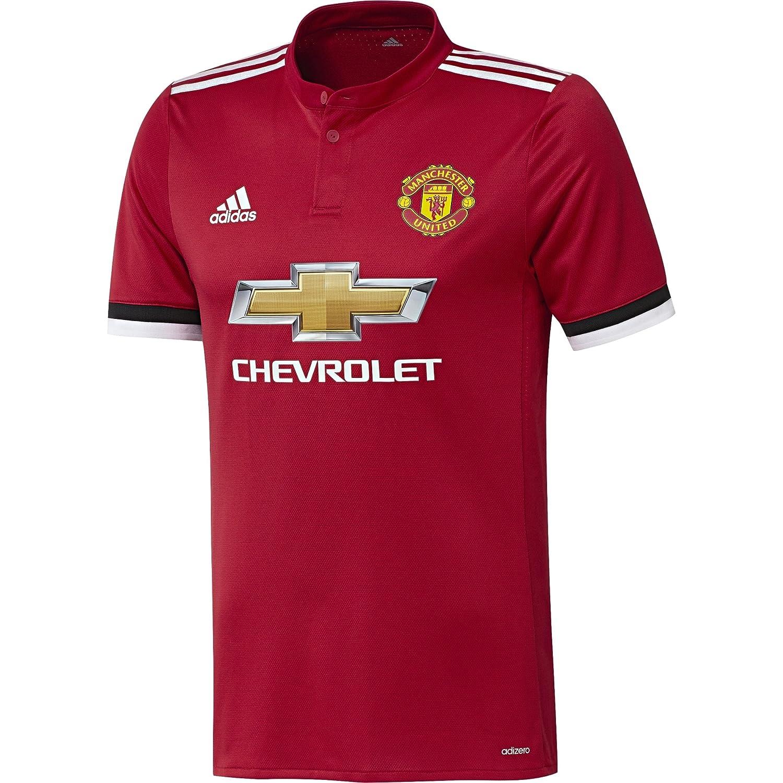 adidas MUFC H Au JSY Camiseta 1ª Equipación Auténtica Manchester ...