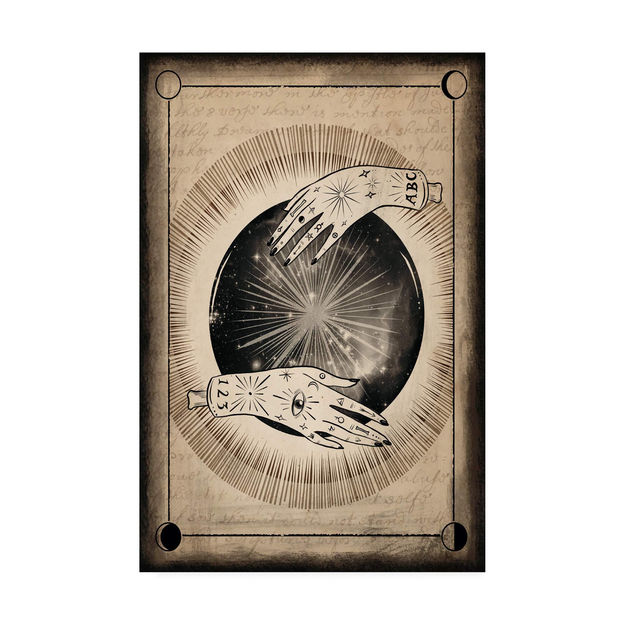 Trademark Fine Art Fortune Tarot I by Victoria Borges, 30x47