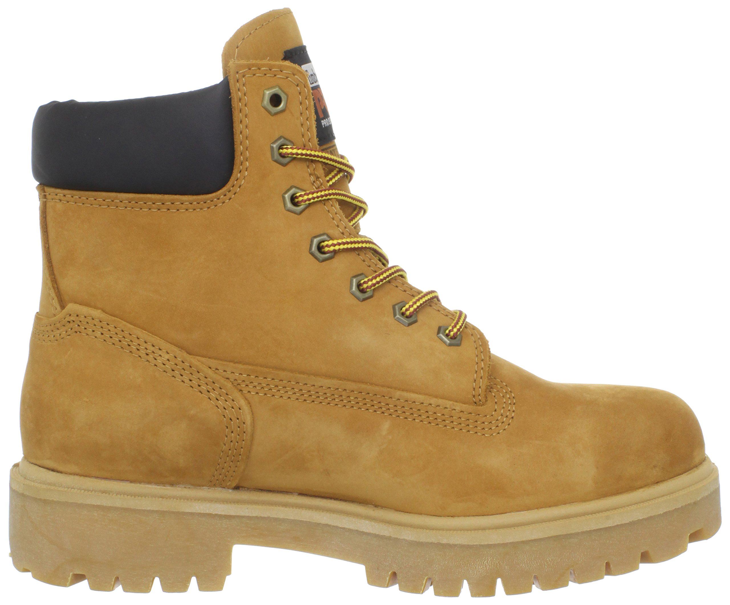Timberland PRO Men's 65016 Direct Attach 6'' Steel Toe Boot,Yellow,9.5 W by Timberland PRO (Image #7)