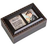 First Communion Boy Musical Rosary Box Plays Tune The Hallelujah Chorus from Handel's Messiah