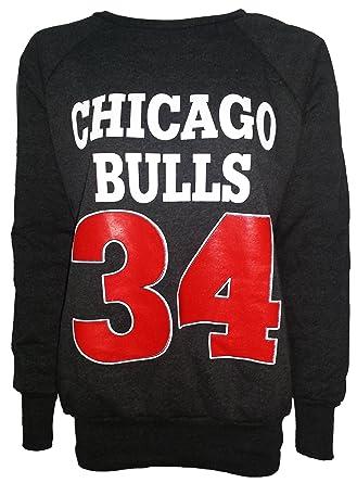 NEW WOMENS LADIES CHICAGO BULLS 34 8581e3f545