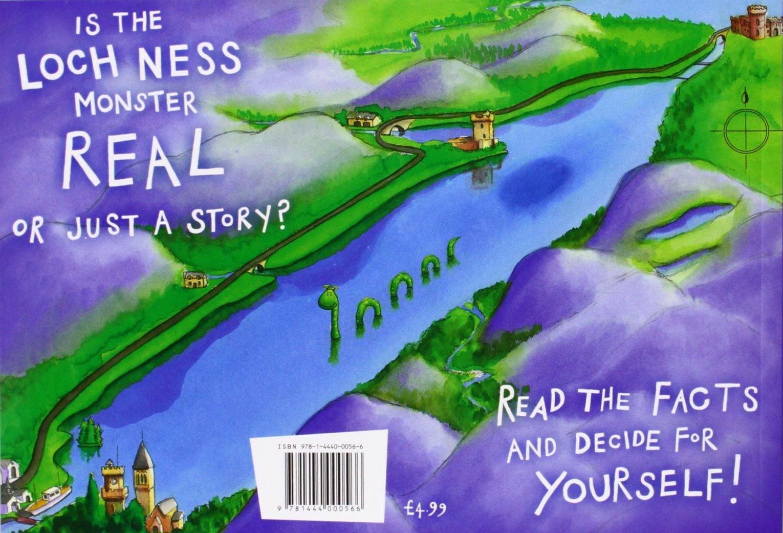 Loch Ness Karte.Nessie The Loch Ness Monster Amazon De Richard Brassey