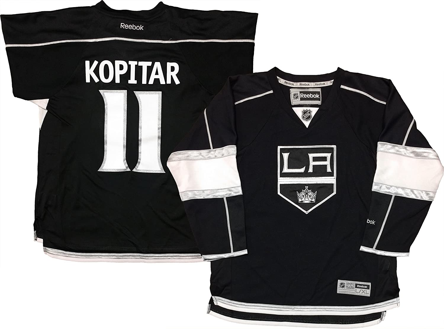 Outerstuff NHL Youth 8-20 Screen Printed Premier Player Name and Number Home Jersey