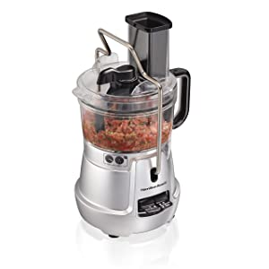 Hamilton Beach 70820 Stack & Snap Food Processor 8-Cup with Built-in Bowl Scraper