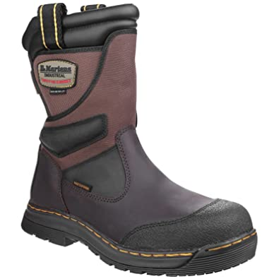 2023b8dc85f Dr Martens Turbine ST Rigger Yellow Stiching Safety Boot