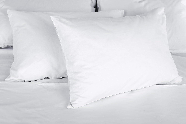 DAGOSTINO HOME Set 2 Cuscini guanciali Bianchi qualit/à Hotel|Fibra Cava|40x60 cm