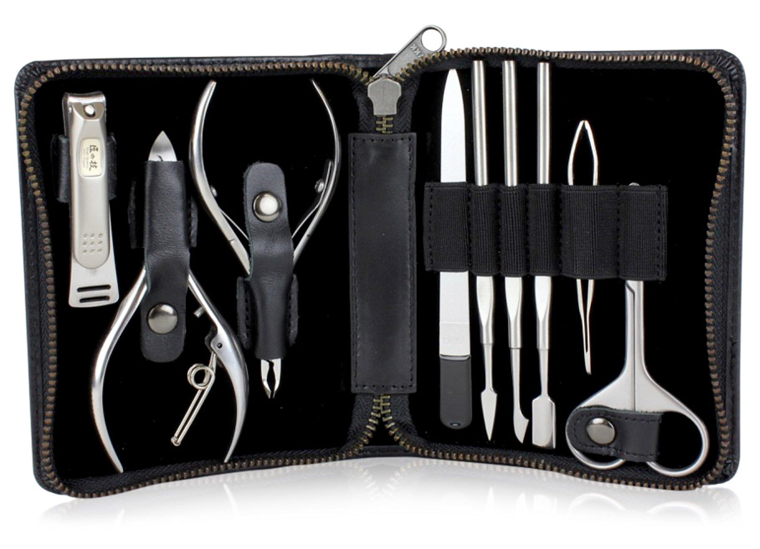Takumi No Waza G-3104 - Craftsman Luxury 9-Piece Grooming Kit