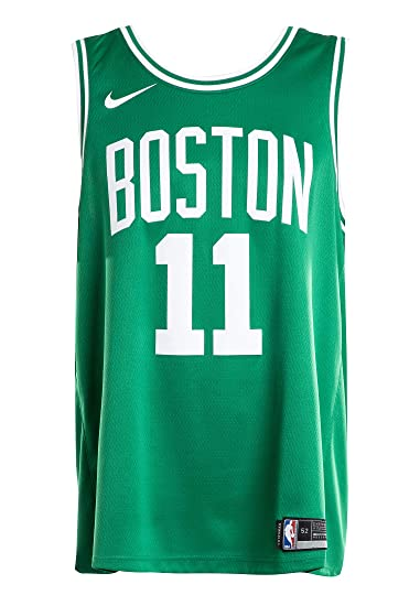 timeless design 6d3f1 7404a Amazon.com: Nike Men's Boston Celtics Kyrie Irving #11 Kelly ...