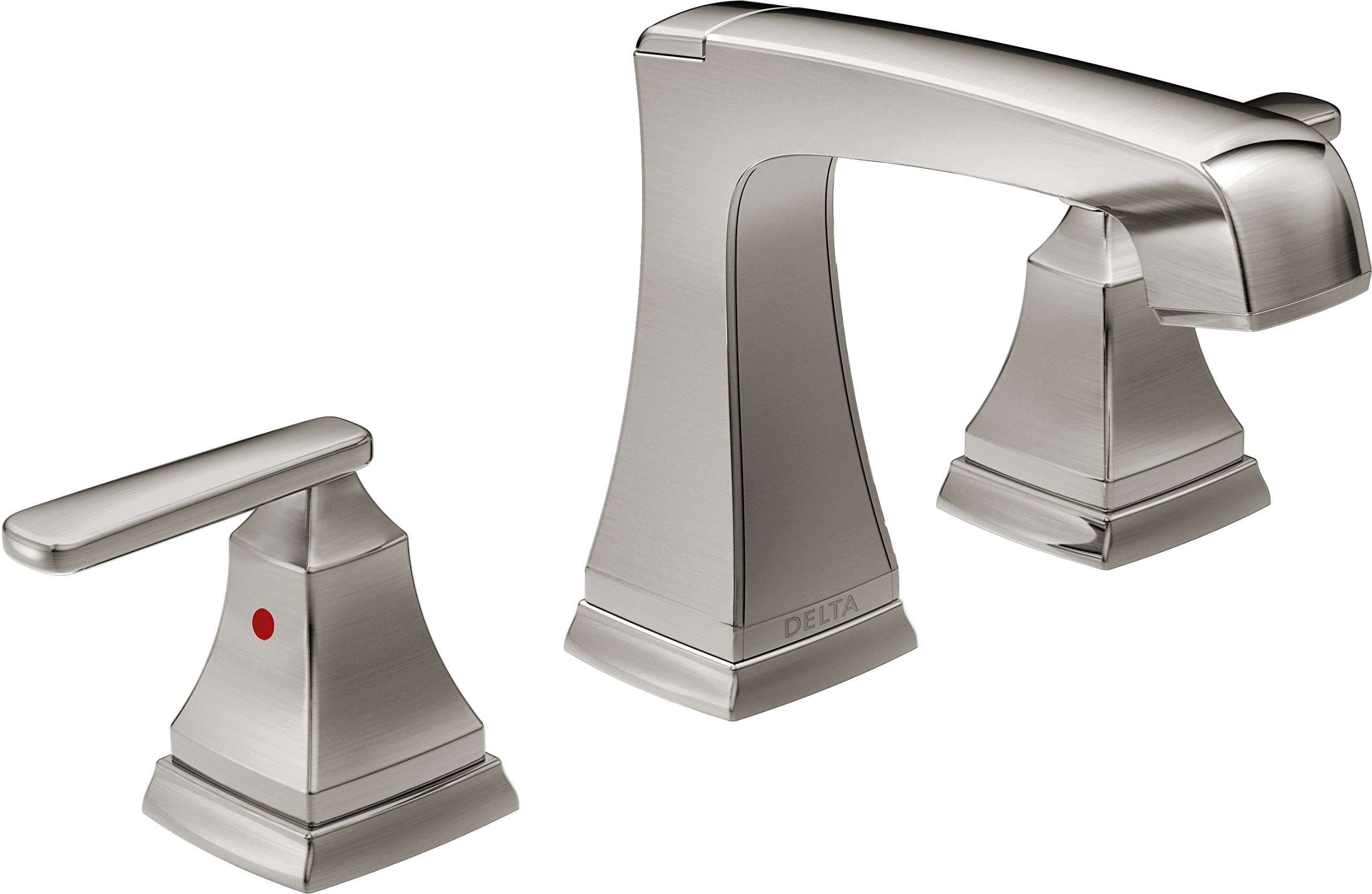 Delta Faucet 3564-SSMPU-DST Ashlyn, Two Handle Widespread Lavatory Faucet, Stainless