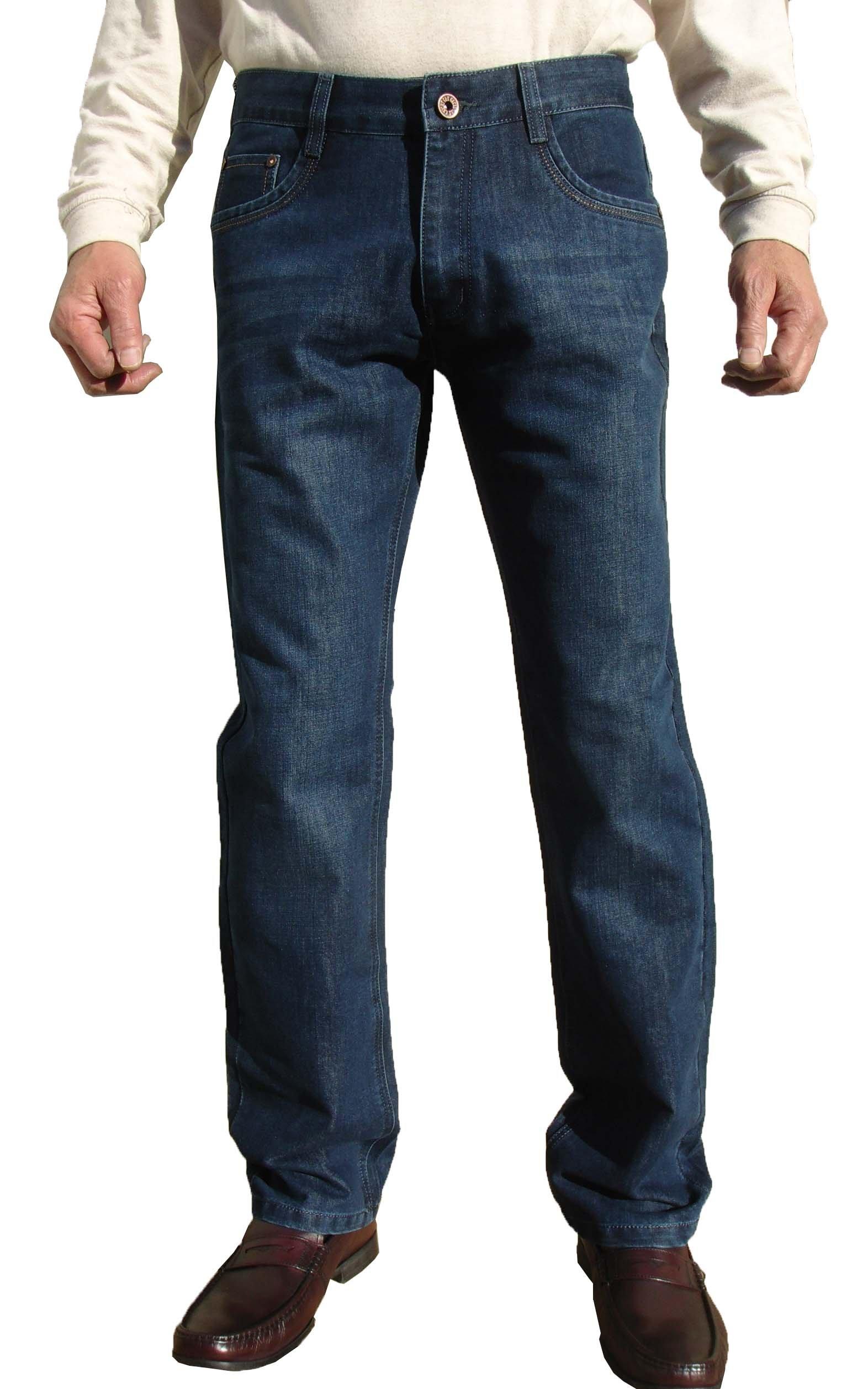 Men's straight Fit light Blue Color Washed Casual Jean Pants #1524-sdbu-40L